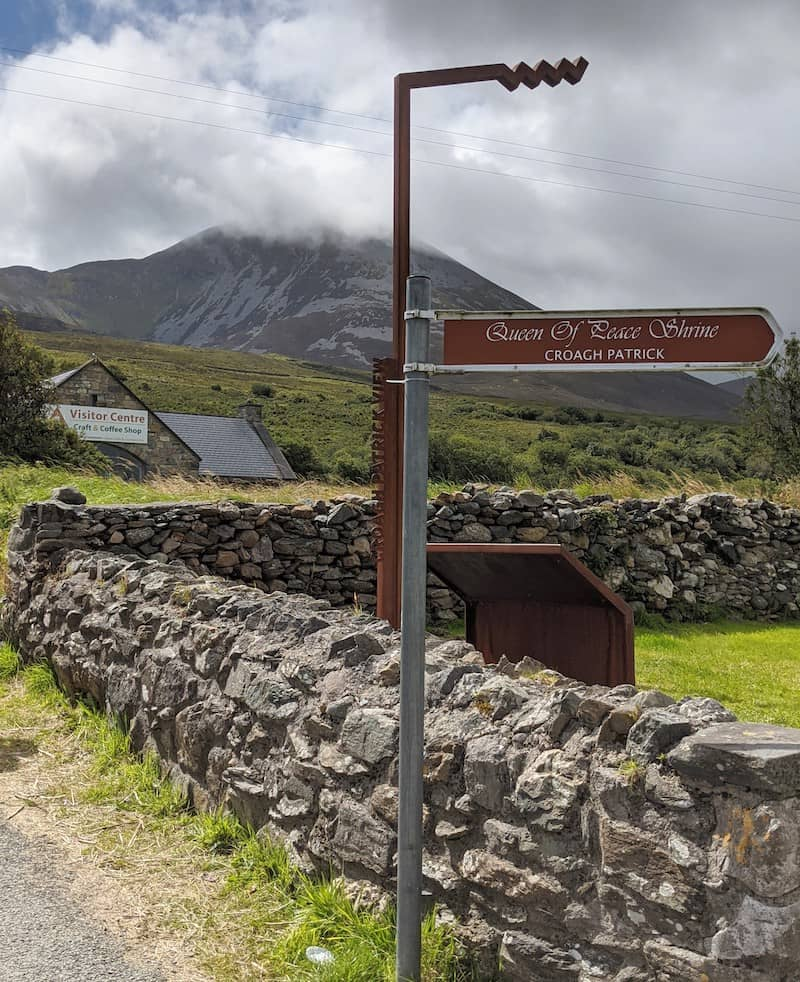 Climbing Croagh Patrick is one of the top things to do in Mayo
