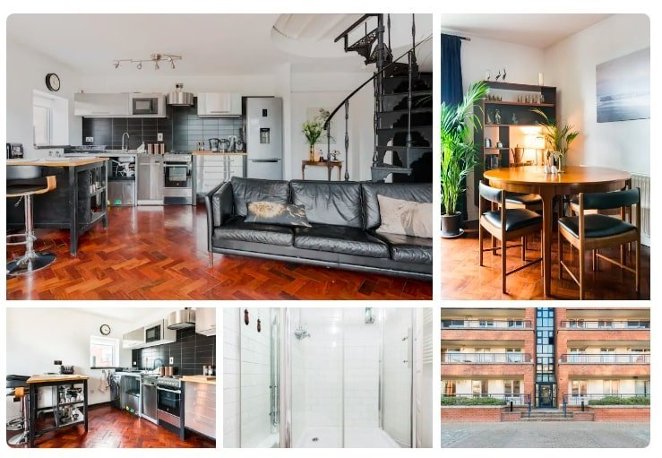 airbnbs in dublin with city views