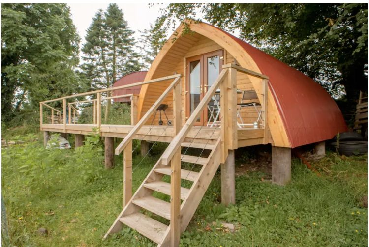 travel trends in Ireland for 2021 - glamping holidays