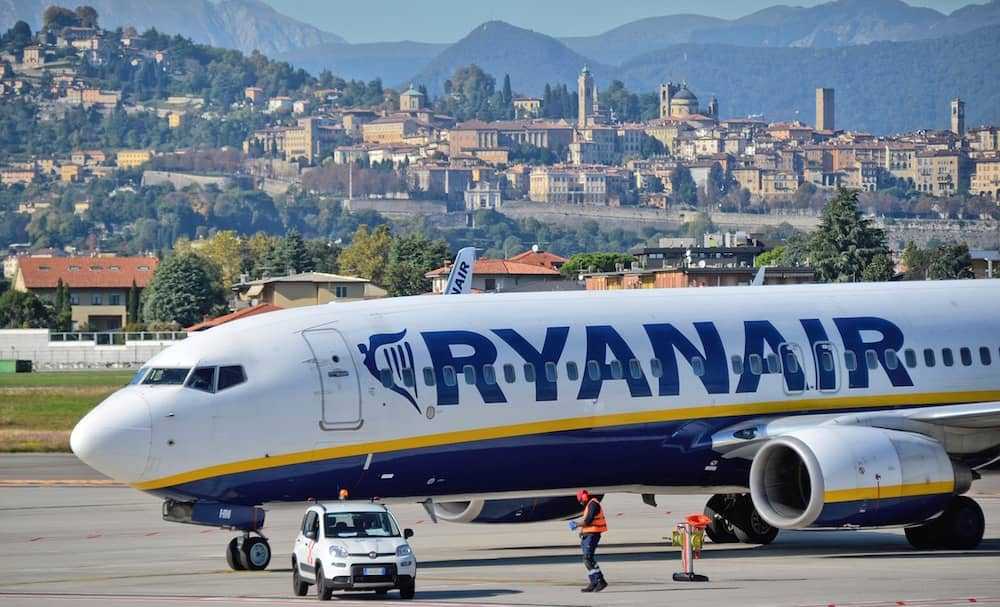 Ryanair flights still operate in and out of Ireland during travel restrictions.