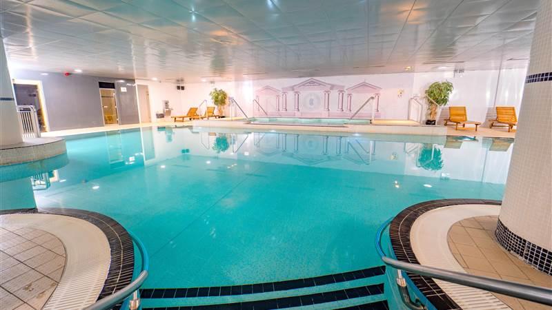 Ballyliffin Lodge & Spa, swimming pool.