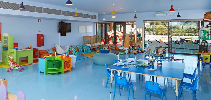 Kids club at Martinhal Resorts