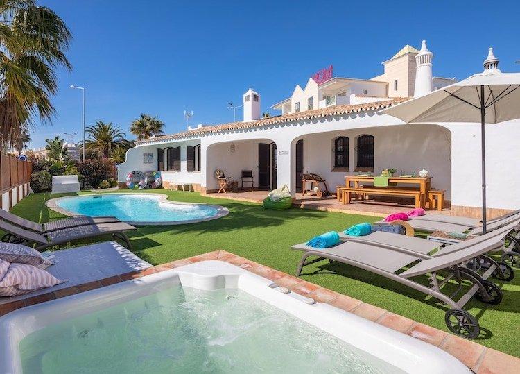 luxury villas in Portugal