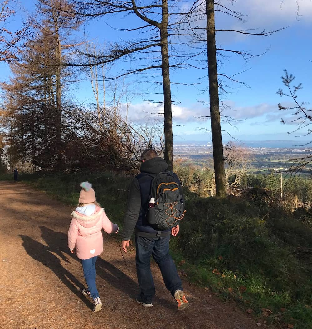 walks in Dublin mountains