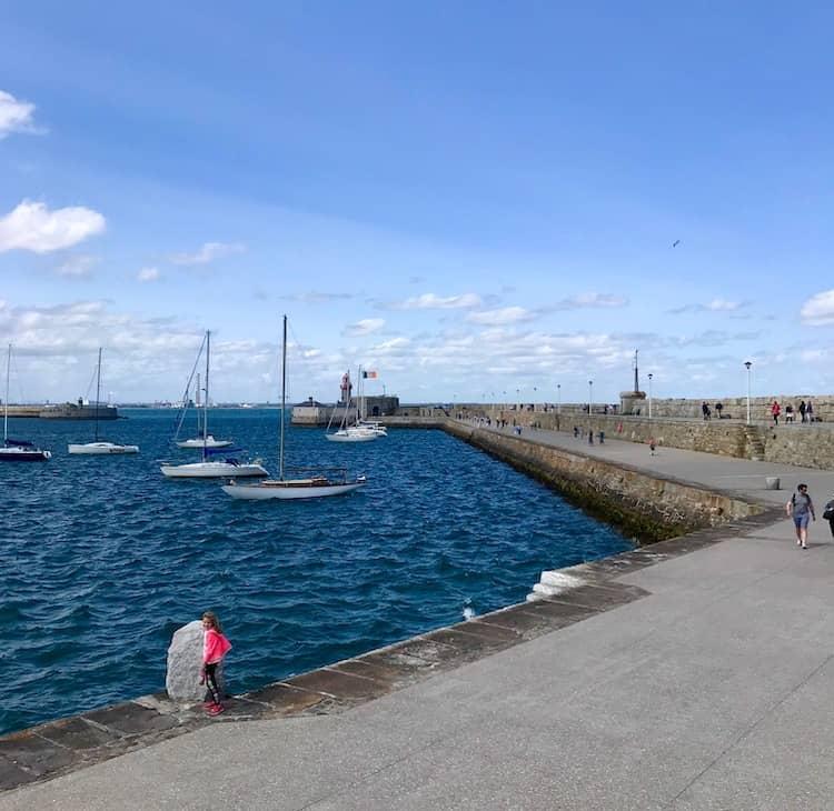 Dun Laoghaire Pier is a buggy friendly walk in Dublin