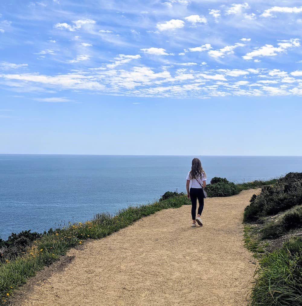 howth cliff walk is one of the most popular walks in Dublin