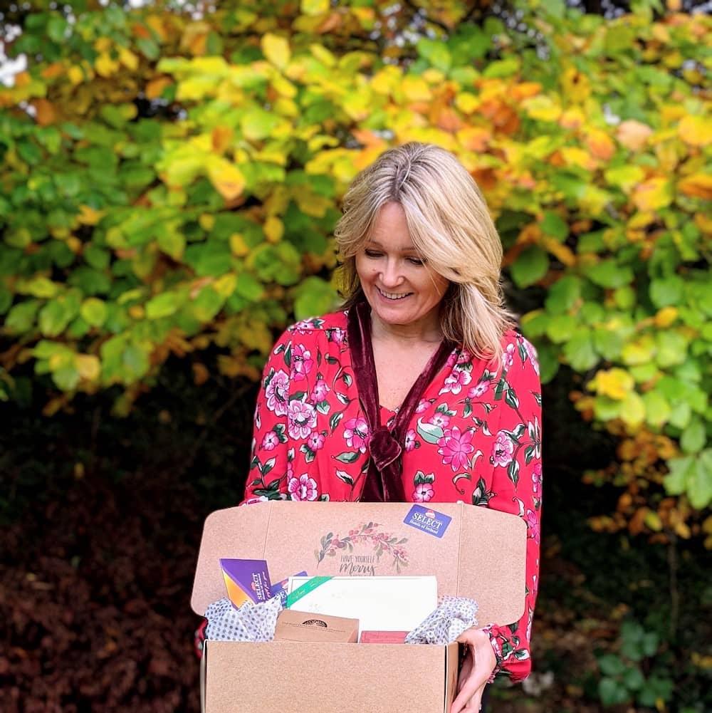 select hotels of Ireland Christmas gift box