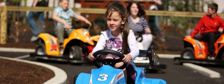 Amber Springs has go karting and is one of the best family hotels in Ireland.