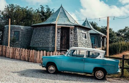 Hagrids Hut, Harry Potter themed accommodation (1)