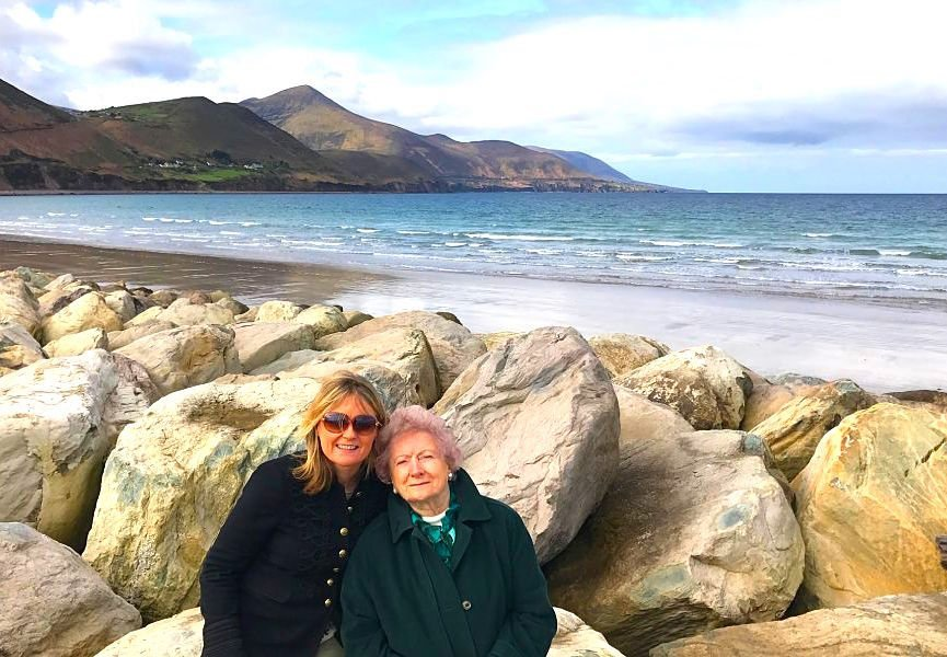 Rossbeigh beach Kerry on Wild Atlantic Way