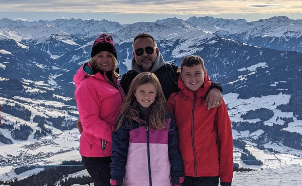top winter holiday destinations for families - skiing