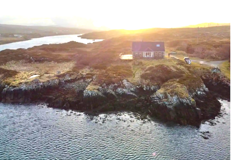 This is one of the best airbnbs in Galway on the Wild Atlantic Way .