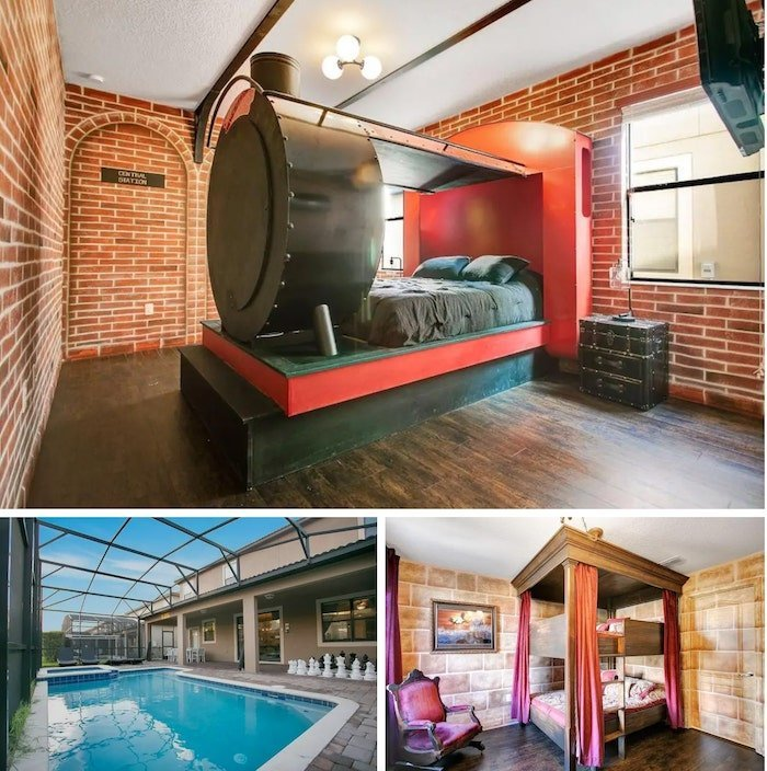 luxury Harry Potter themed home in Orlando on Airbnb