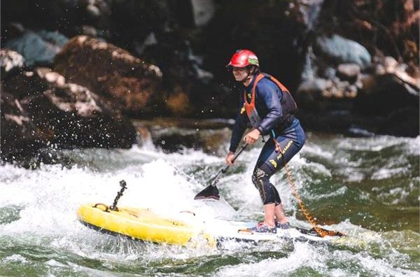 sup board for white water rafting