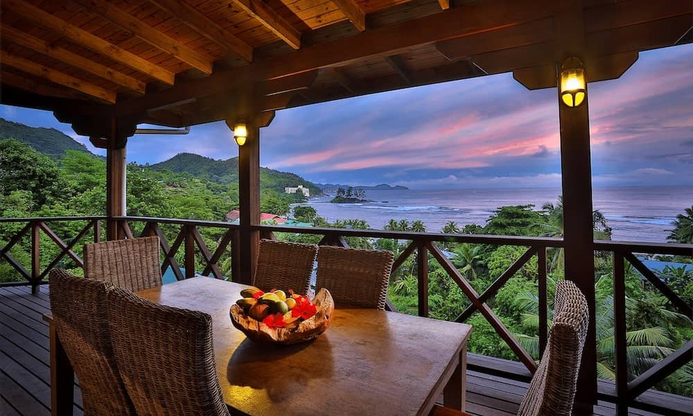 Seychelles villas for couples or families.