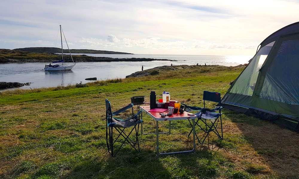 campsites in Ireland.
