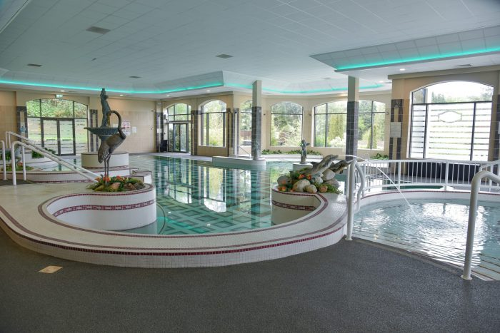 swimming pool at the Glenview Hotel, Wicklow