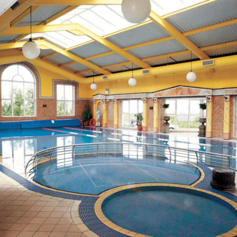 swimming pool at the Yeats Country Hotel.