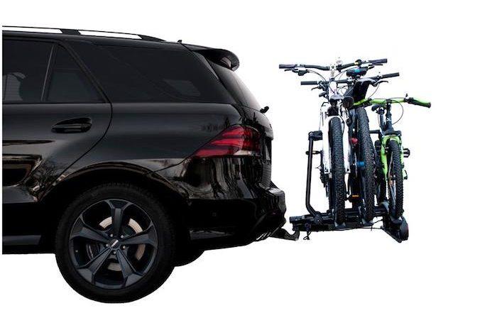 bike racks.