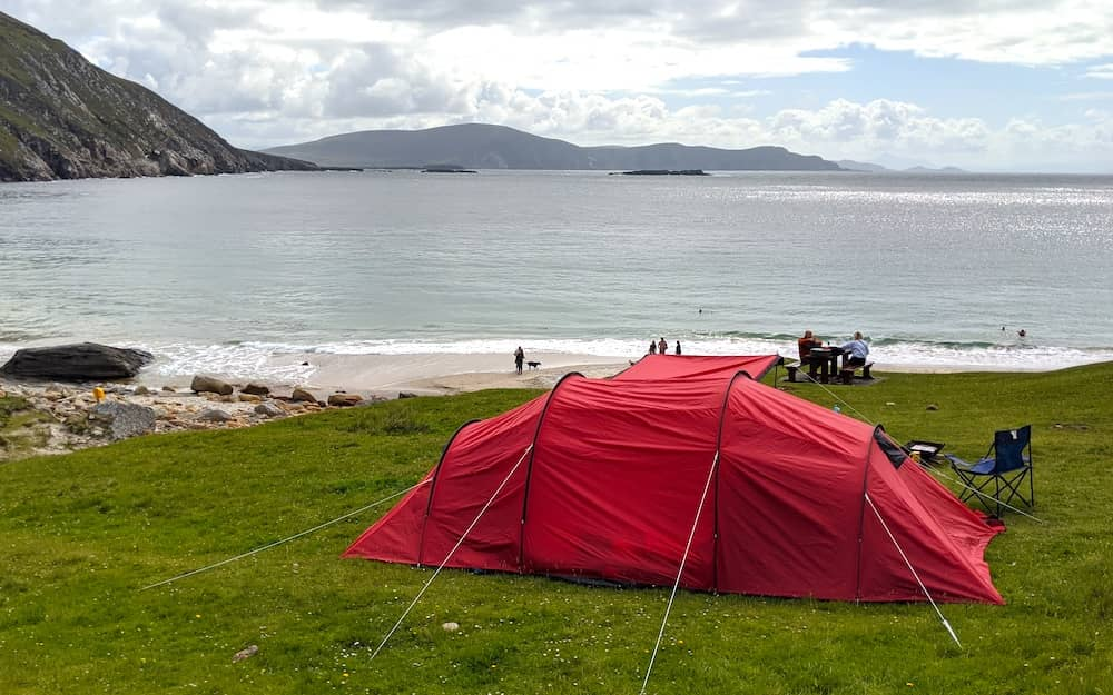 camping in Achill (1)