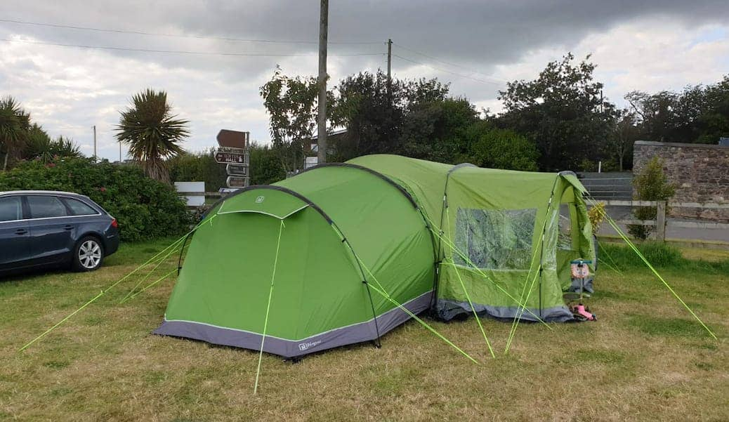 family tents for camping in Ireland