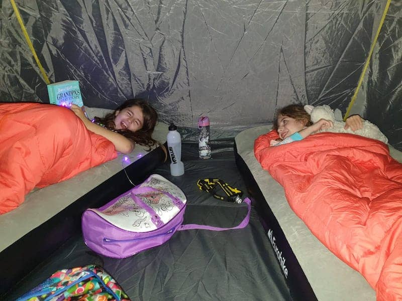 family camping equipment - airbeds