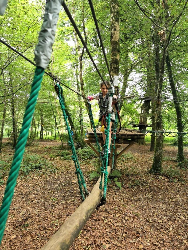 family camping holidays in Ireland - lough key forest park