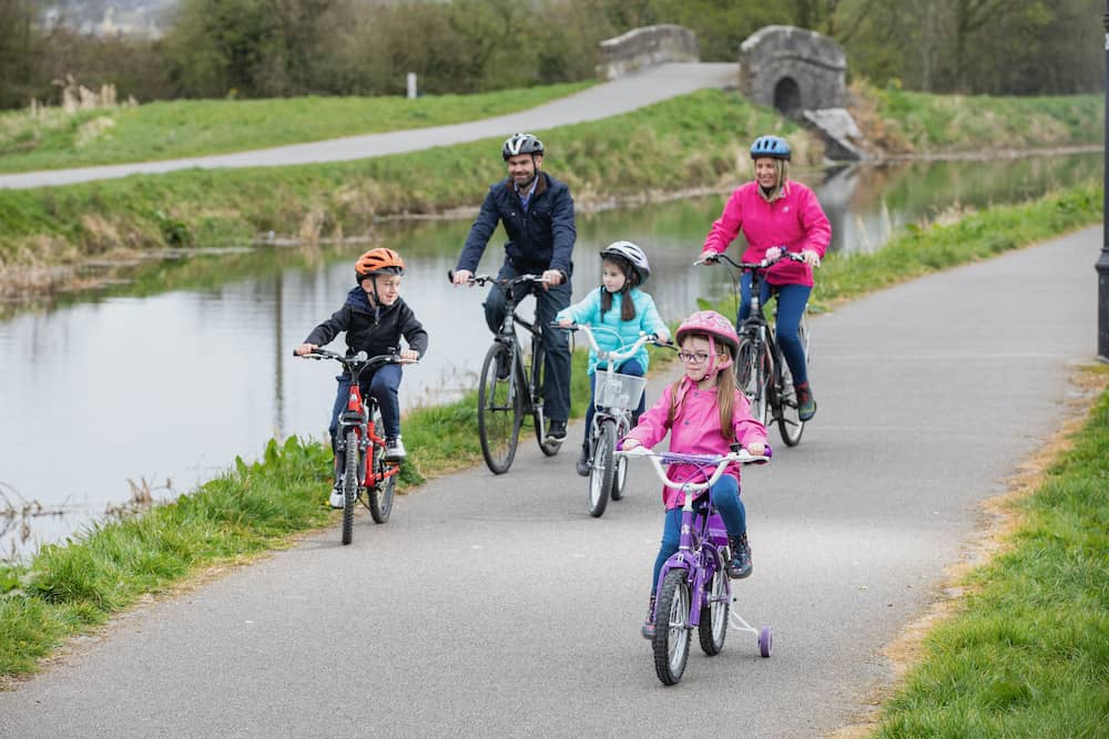 family activity breaks in the Boyne Valley along the Royal Canal Greenway.