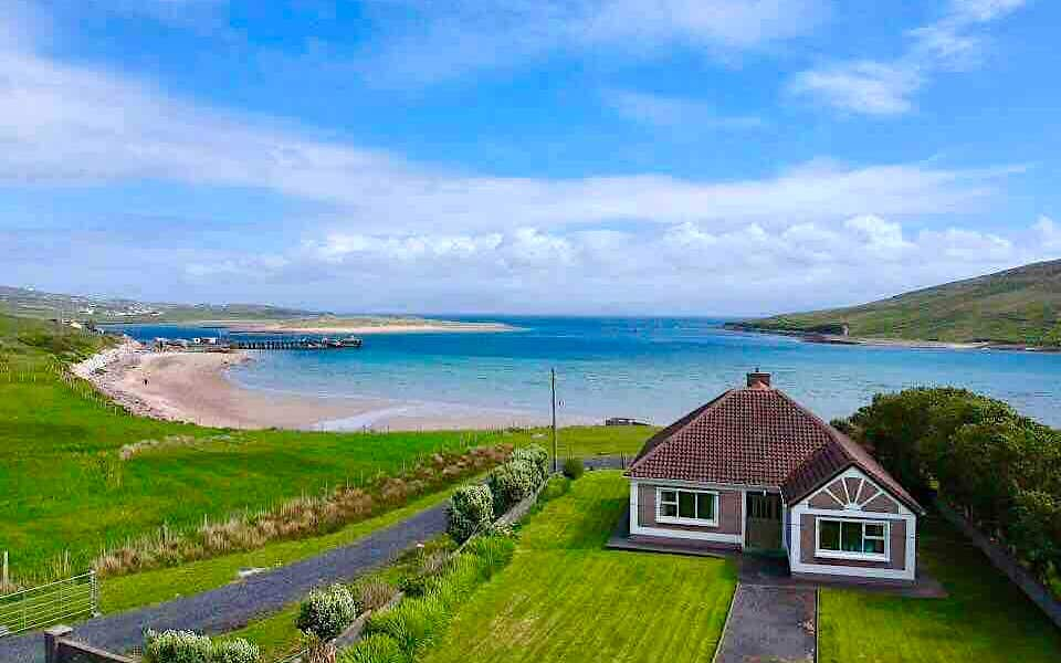 Achill holiday home beside the beach