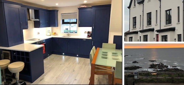 Modern townhouse to rent in Bushmills on the Causeway Coast.