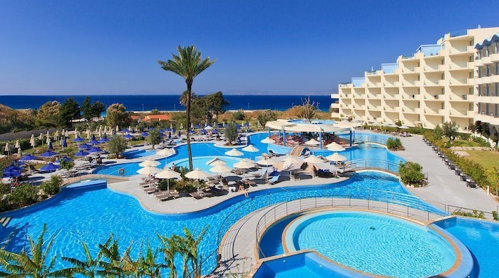 The best five-star hotels in Rhodes for couples.