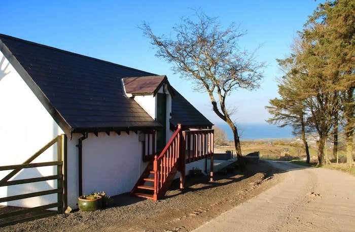 Cottage with sea view on Causeway Coast
