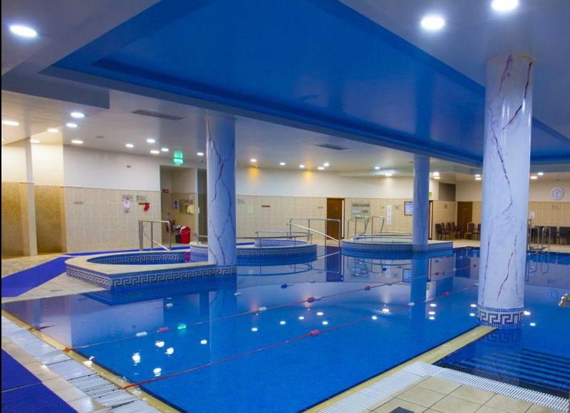 The Knightsbrook Hotel is a great choice for family activity breaks as it has a swimming pool onsite.