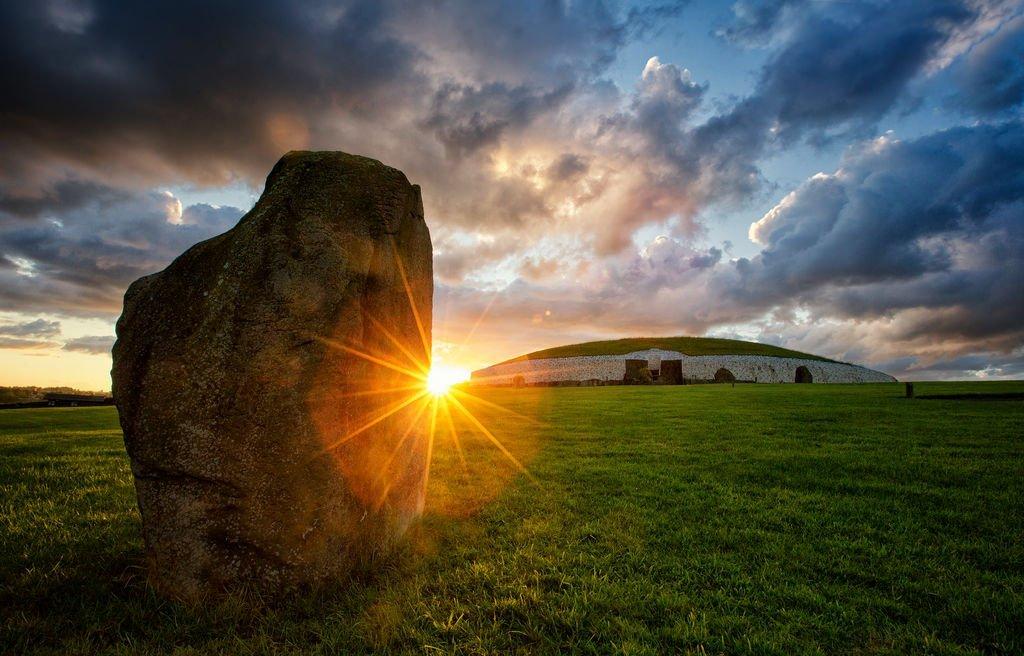 Newgrange, Brú na Bóinne, Boyne Valley.