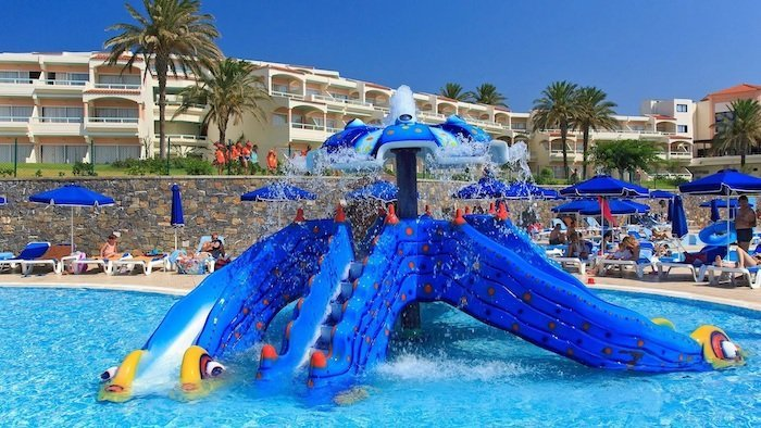 all inclusive rhodes holidays for families at the Rodos Princess Beach Hotel.