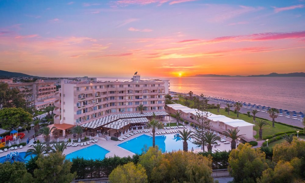 Sun beach resort is a great value choice for Rhodes holidays for families,