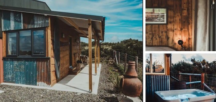 The Surfers Shack is one of the most unique Airbnbs in Northern Ireland