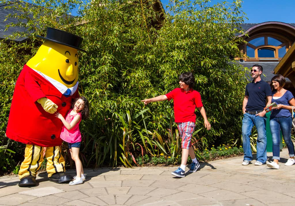 Tayto Park theme park is located in the Boyne Valley in Ireland
