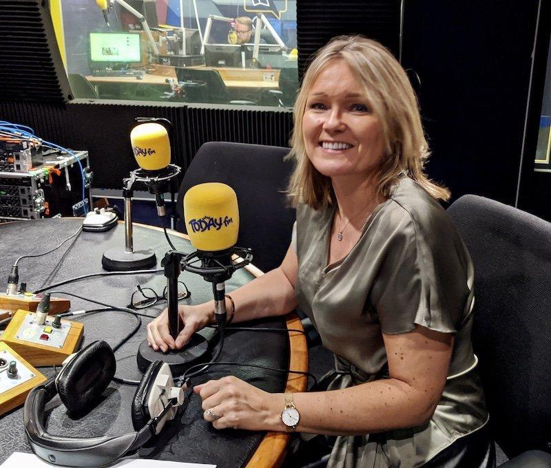 Sarah Slattery on Today FM