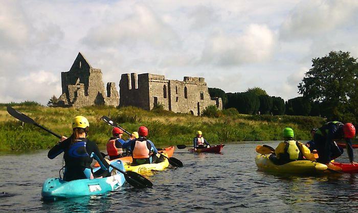 Water activities in one of the hidden gems in Ireland, the Boyne Valley