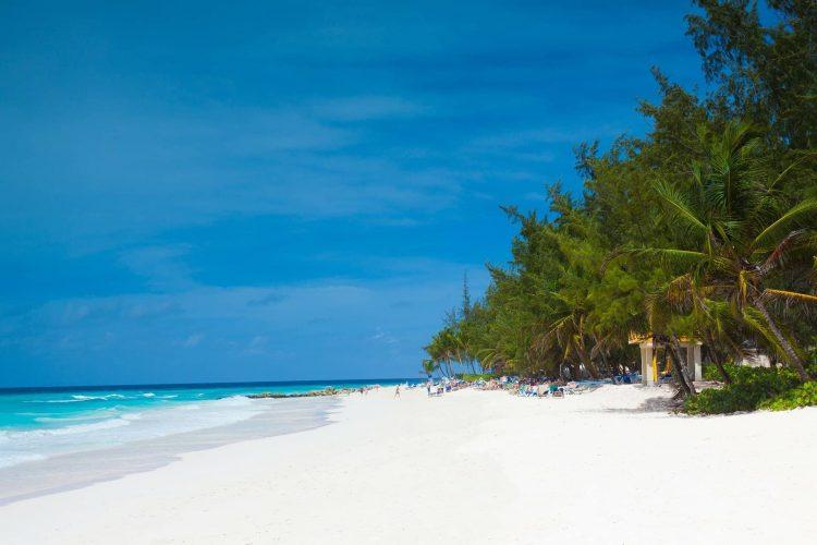 beach at Sandy Lane Barbados