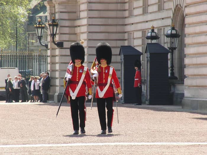 changing of the guard at Buckingham Palace is one of the top things to do in London