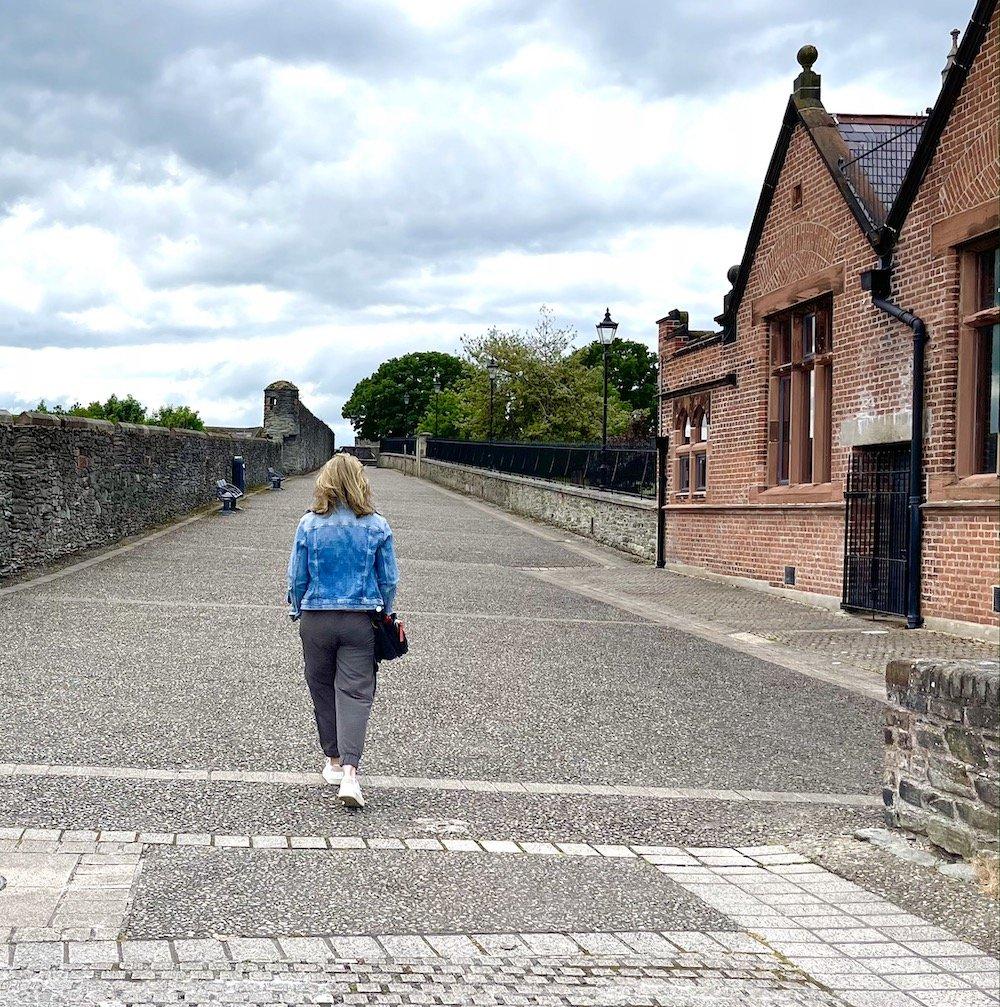 Walking tour of the Derry Walls is one of Irelands hidden gems
