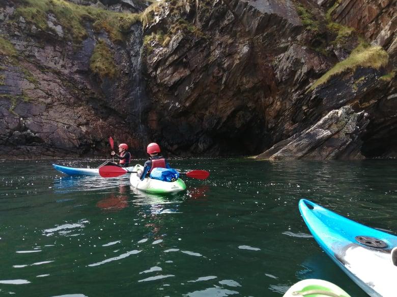 kayaking in Donegal