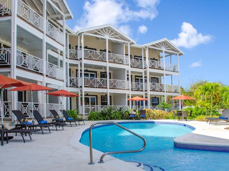Lantana Resort, Barbados is a great value self-catering option for families.