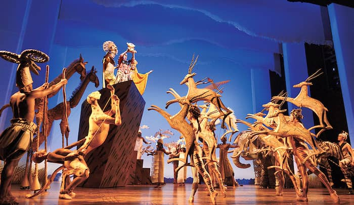 The Lion King West End Show, London