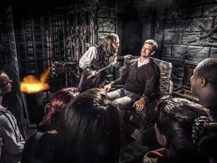 London Dungeons is one of the best things to do in London with teenagers