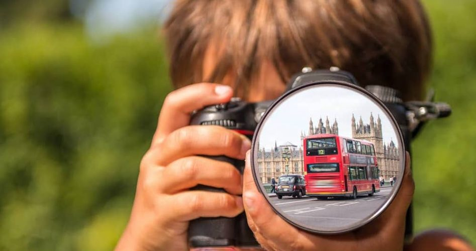 London with kids photography