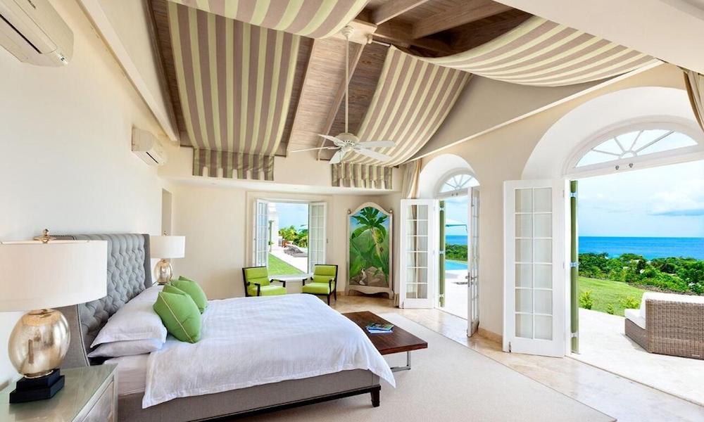 Interior of villas at Marsh Mellow Resort, Barbados