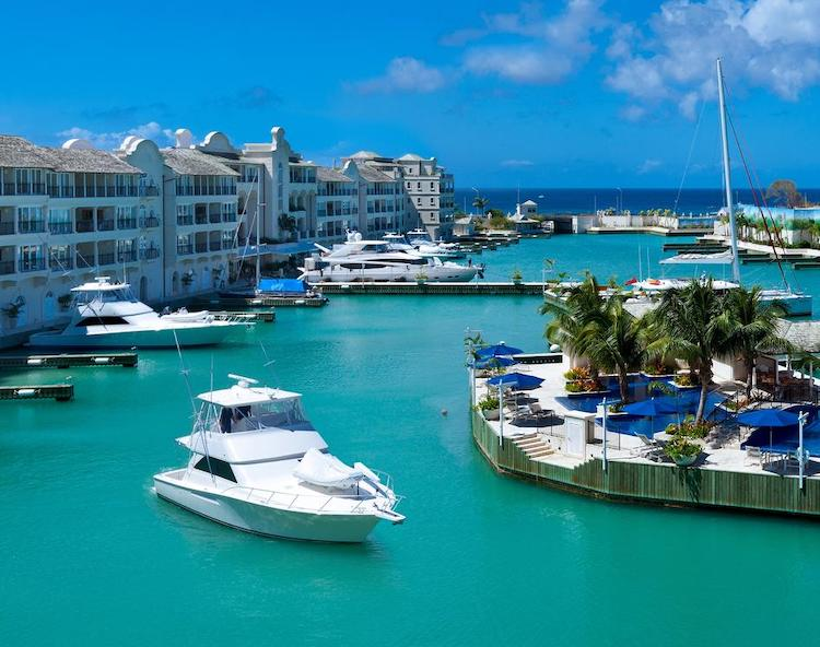 Port Ferdinand Marina offers a wide selection of Barbdos villas or groups